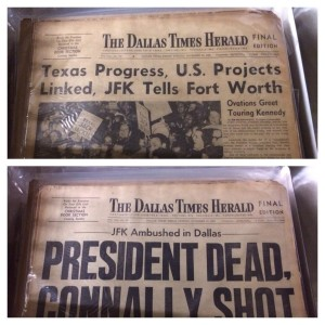 The Dallas Times Herald news paper