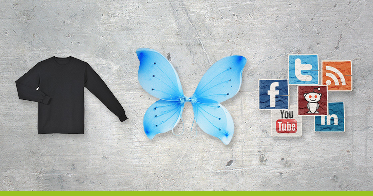 how to make a social butterfly costume