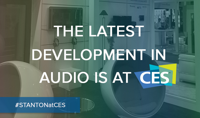 The Latest Development in audio is At CES