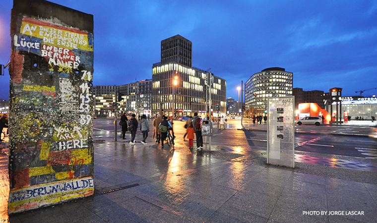 March 10, 2009 Berlin Wall