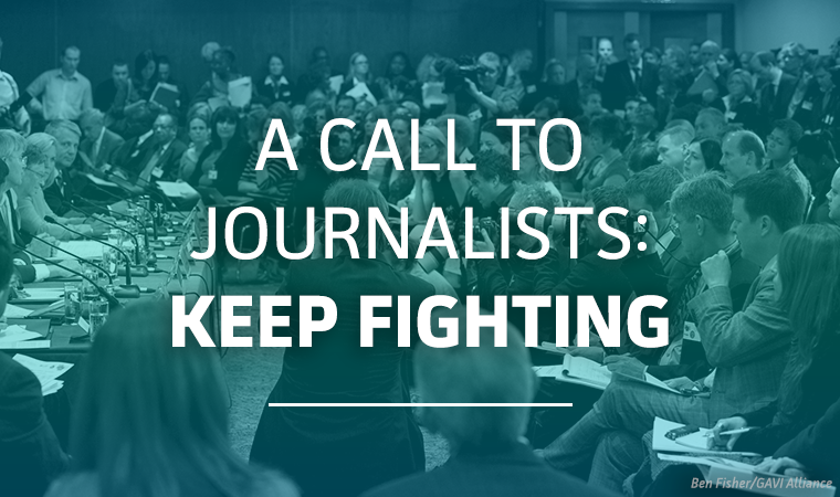 Forbes Article: Calling on Journalists to Keep Fighting