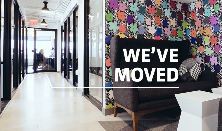 We are moving offices