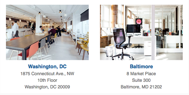 New DC and Baltimore Offices