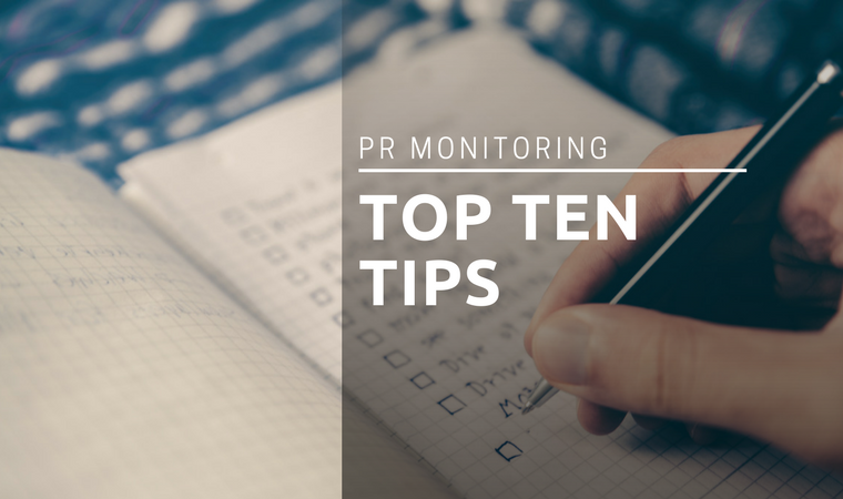 PR Monitoring Graphic