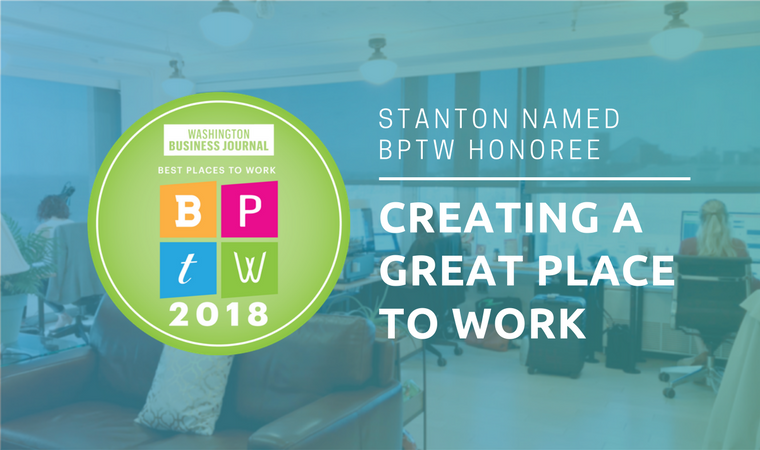 Stanton Best Places to Work Honoree