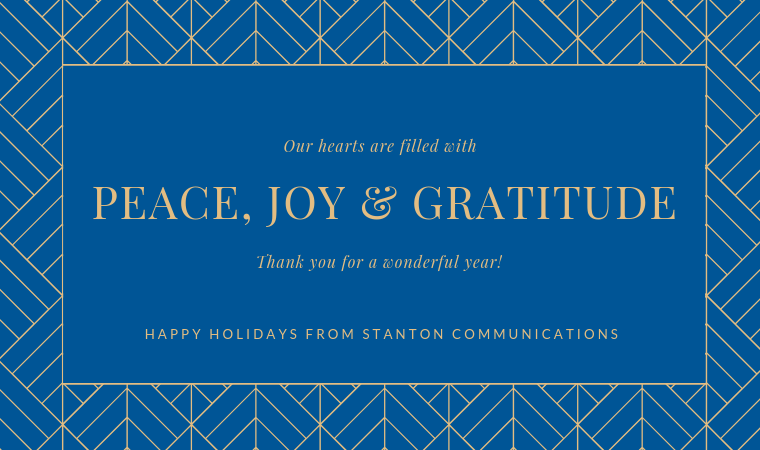 Happy Holidays from Stanton